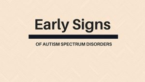 red flags early signs autism