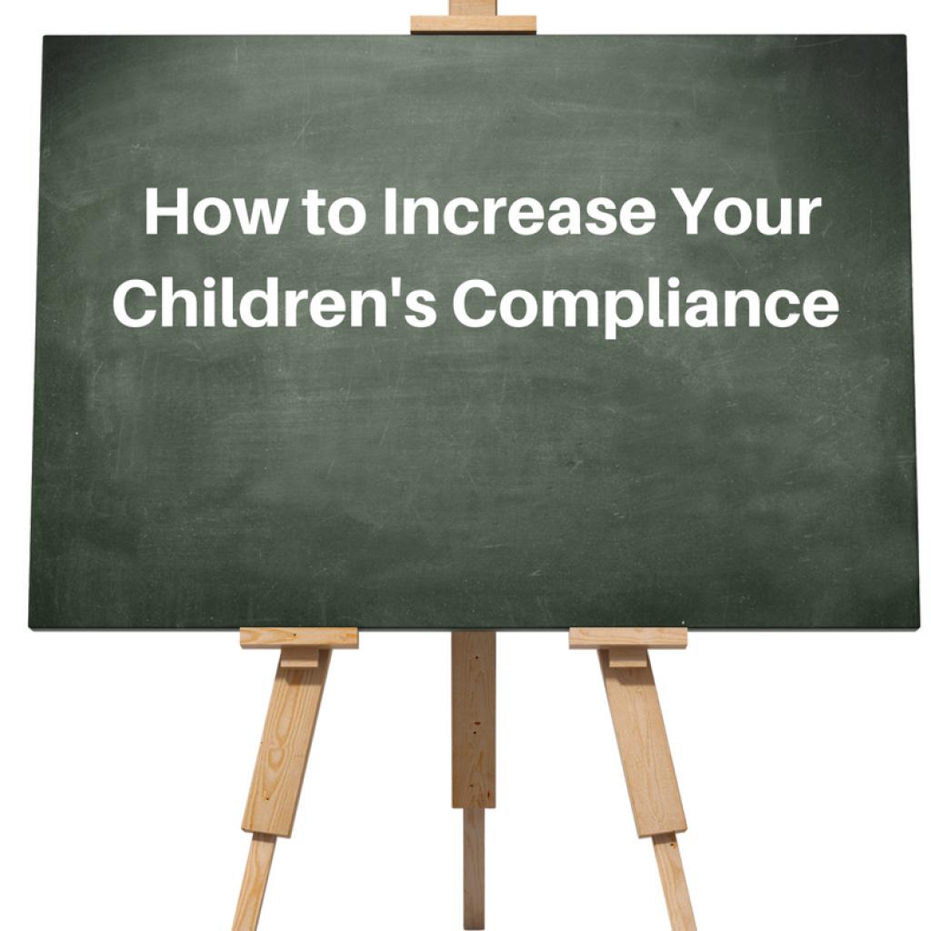 compliance parenting children defiance behavior